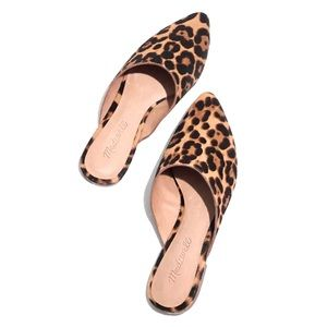 Madewell The Remi Mule in Leopard Calf Hair SIZE-9